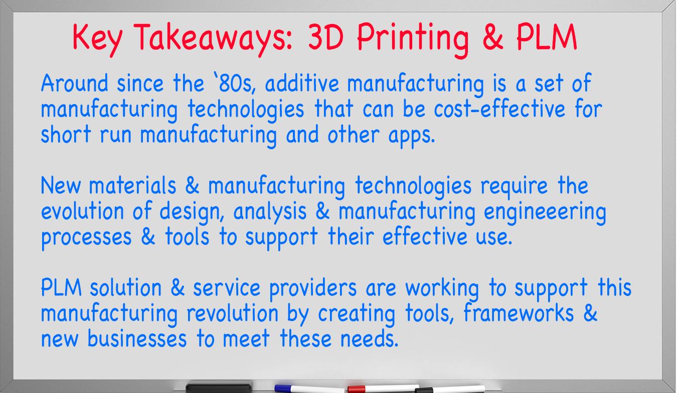 3D Printing and PLM - CIMdata