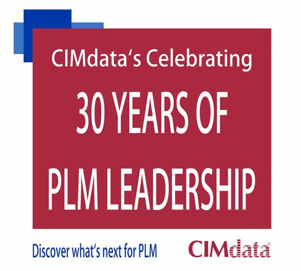 CIMdata's Celebrating 30 years of PLM Leadership