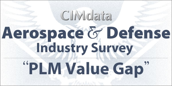 "CIMdata Aerospace & Defense Industry Survey ""PLM Value Gap"""